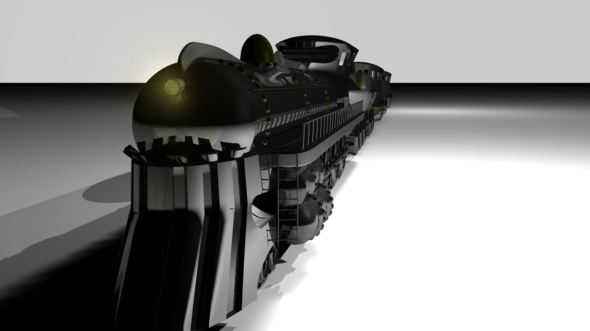 Art deco train for Art deco train interior